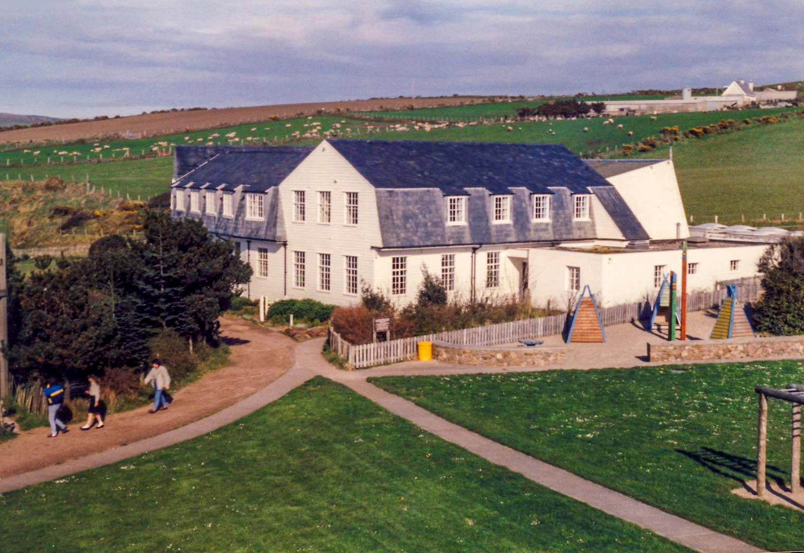 Corrymeela House, Ballycastle, County Antrim, as it was during the 1980s.