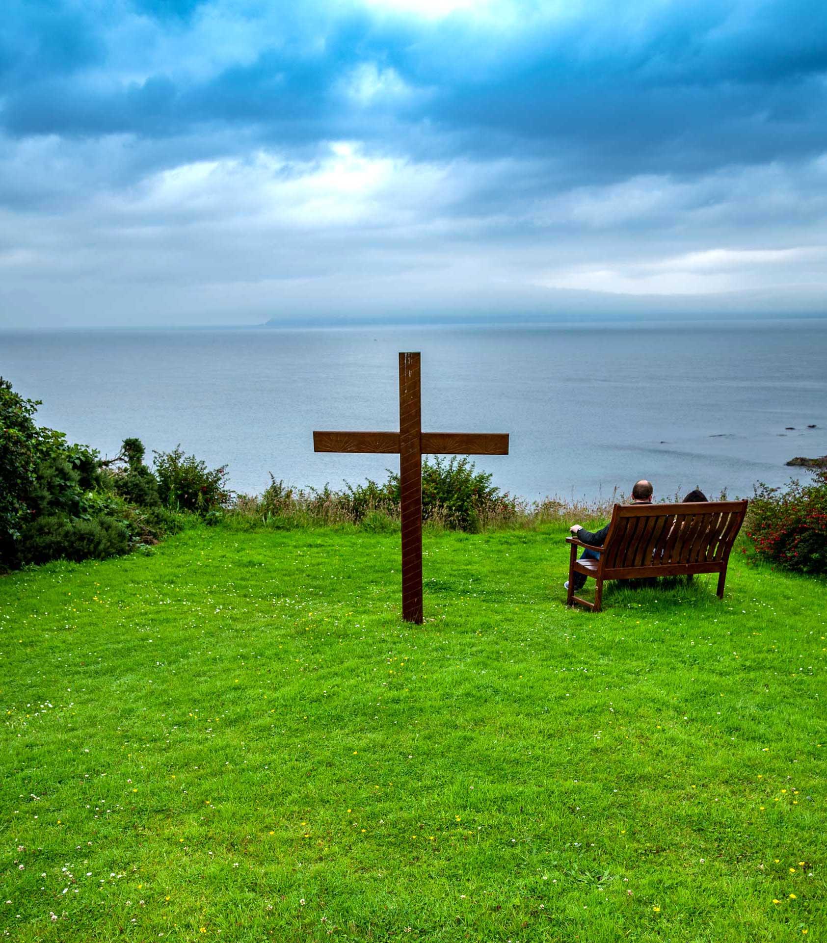 Corrymeela at Ballycastle has a stunning view over the Atlantic Ocean